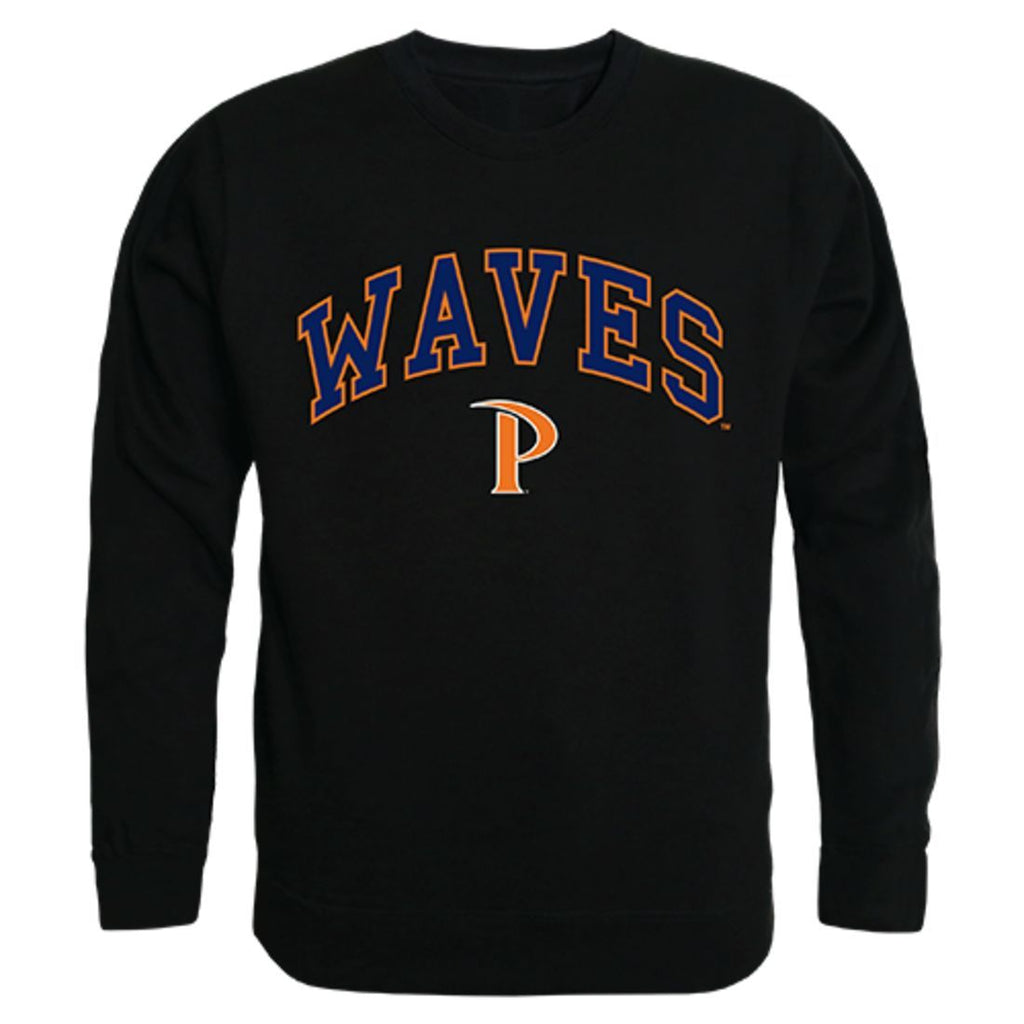 Pepperdine University Campus Crewneck Pullover Sweatshirt Sweater Black