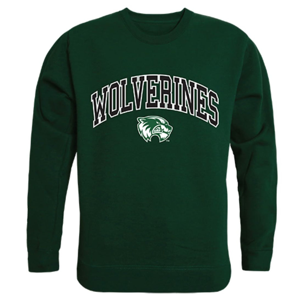 UVU Utah Valley University Campus Crewneck Pullover Sweatshirt Sweater Forest