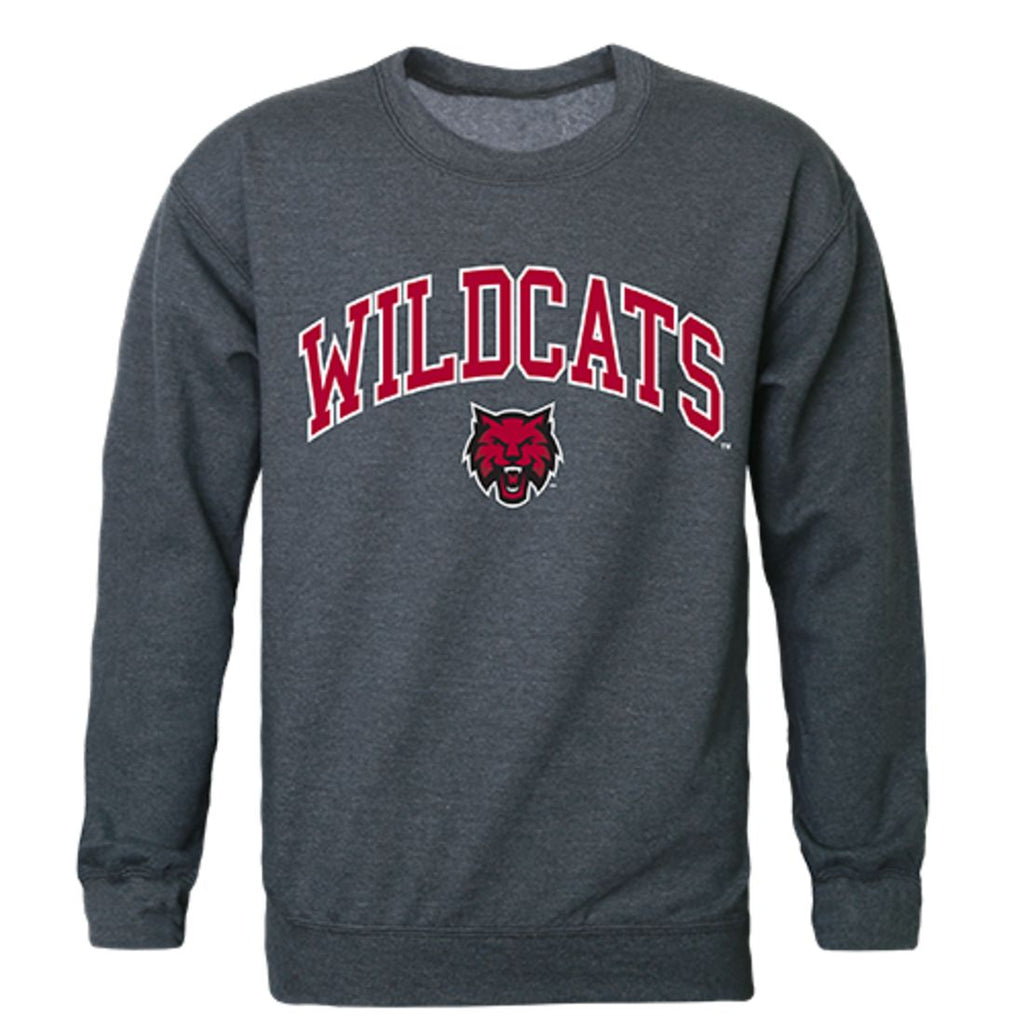 CWU Central Washington University Campus Crewneck Pullover Sweatshirt Sweater Heather Charcoal