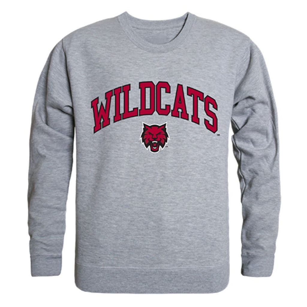 CWU Central Washington University Campus Crewneck Pullover Sweatshirt Sweater Heather Grey