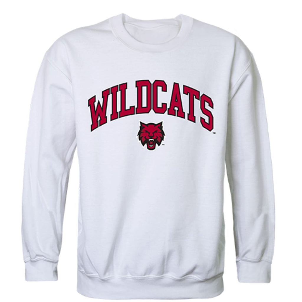 CWU Central Washington University Campus Crewneck Pullover Sweatshirt Sweater White