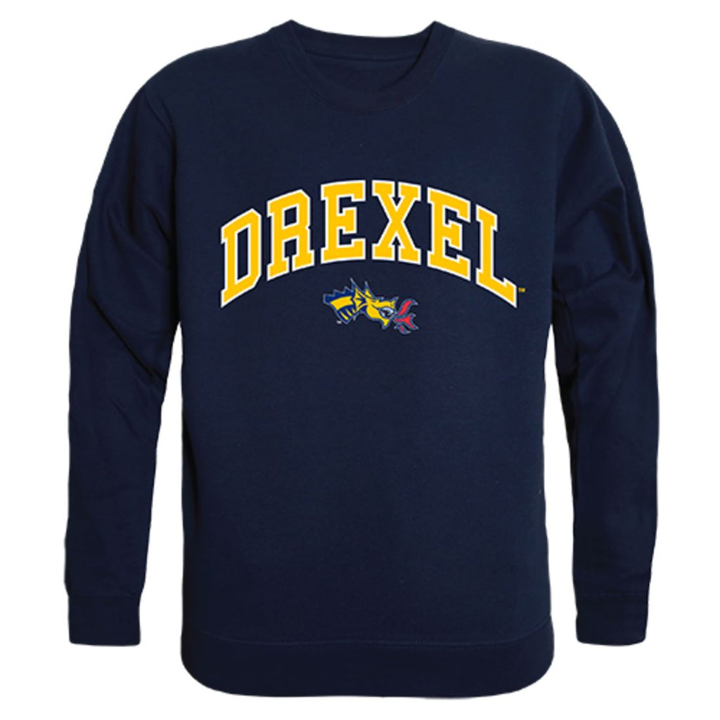 Drexel University Campus Crewneck Pullover Sweatshirt Sweater Navy