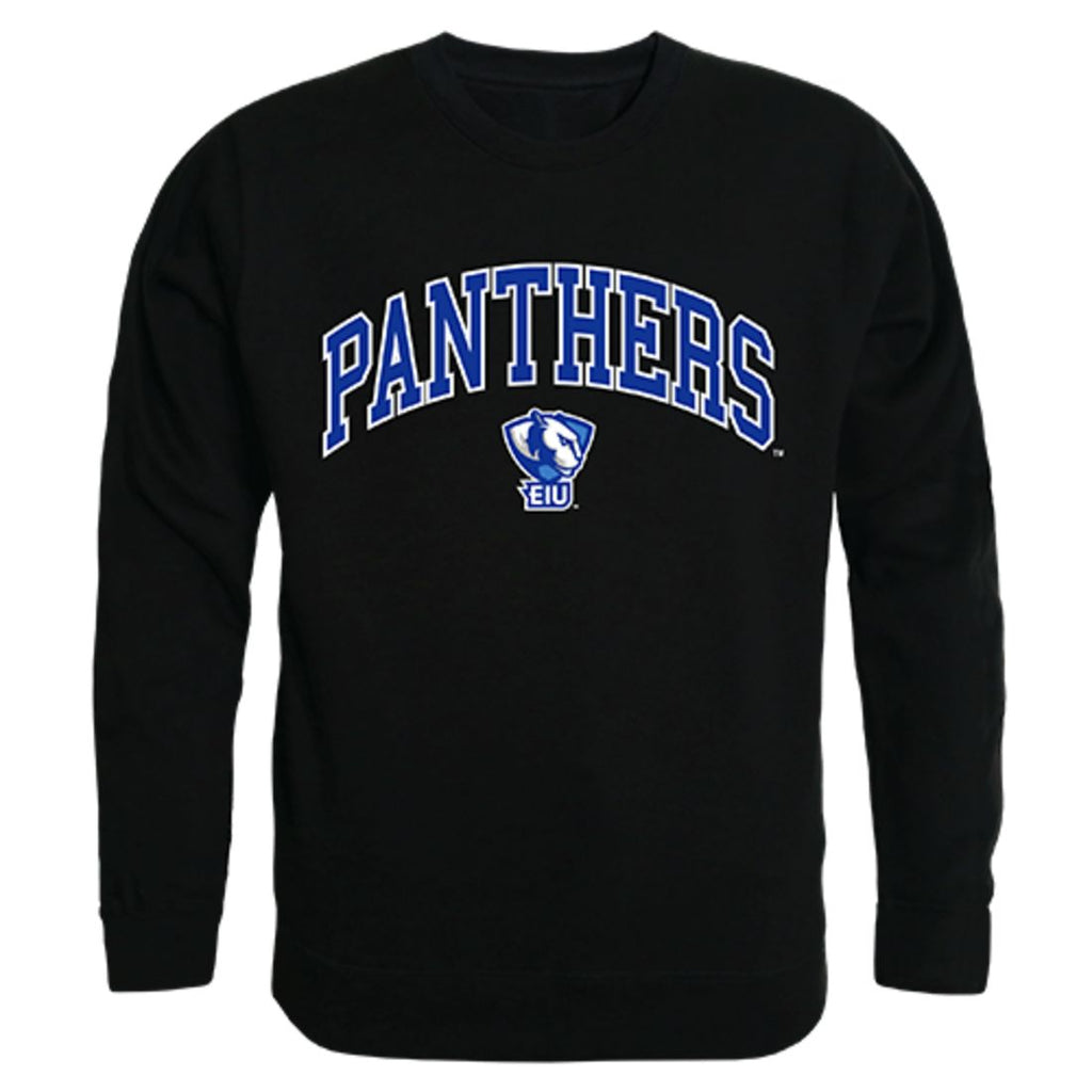 EIU Eastern Illinois University Campus Crewneck Pullover Sweatshirt Sweater Black
