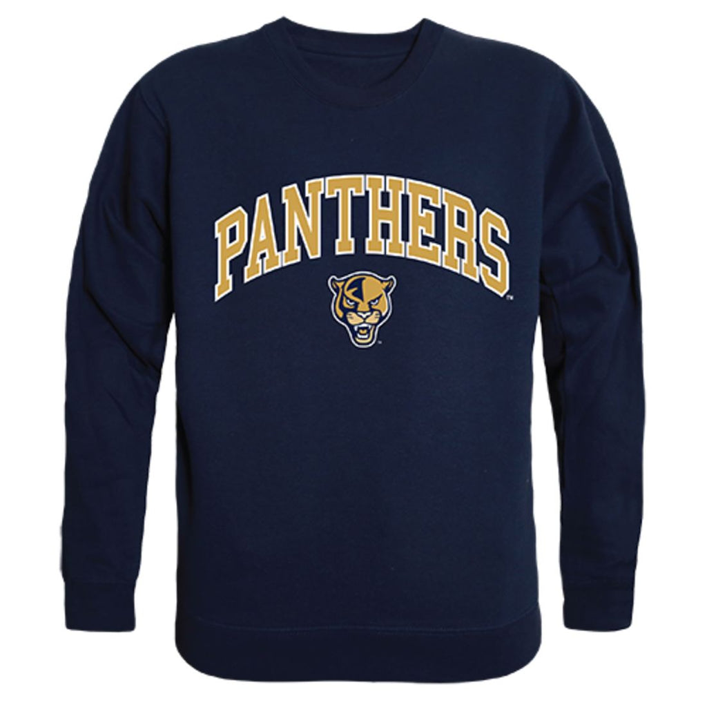 FIU Florida International University Campus Crewneck Pullover Sweatshirt Sweater Navy