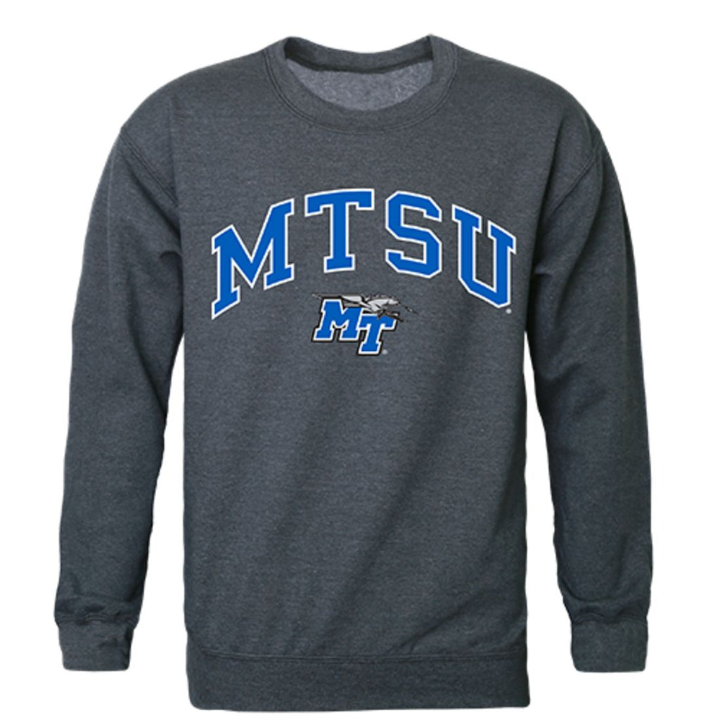 MTSU Middle Tennessee State University Campus Crewneck Pullover Sweatshirt Sweater Heather Charcoal