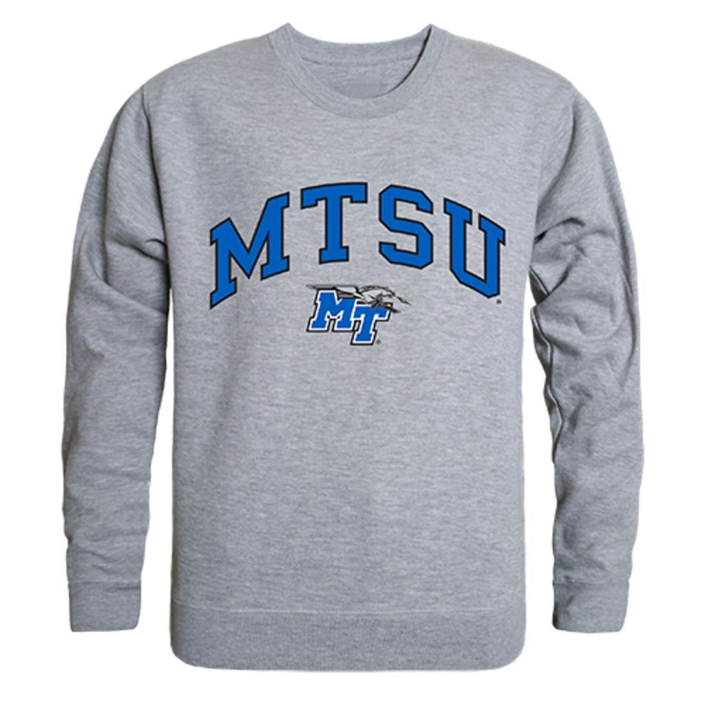 MTSU Middle Tennessee State University Campus Crewneck Pullover Sweatshirt Sweater Heather Grey