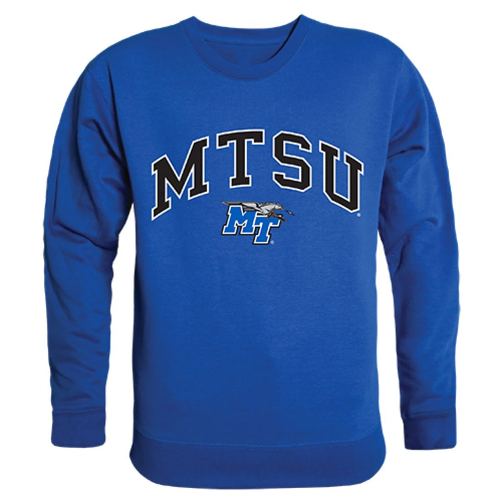 MTSU Middle Tennessee State University Campus Crewneck Pullover Sweatshirt Sweater Royal