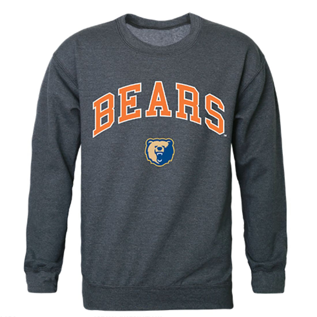 Morgan State University Campus Crewneck Pullover Sweatshirt Sweater Heather Charcoal