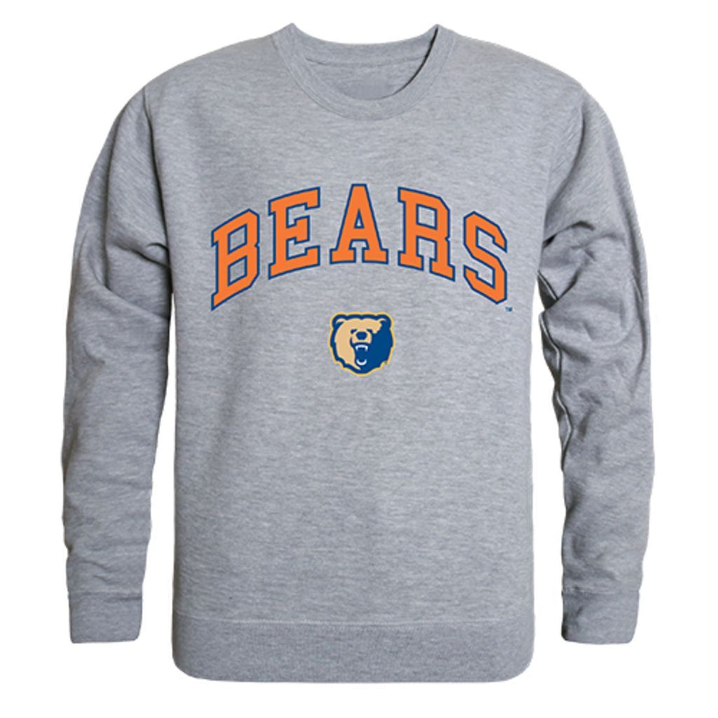 Morgan State University Campus Crewneck Pullover Sweatshirt Sweater Heather Grey