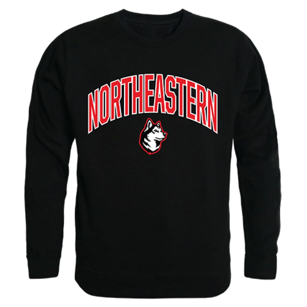 Northeastern University Campus Crewneck Pullover Sweatshirt Sweater Black