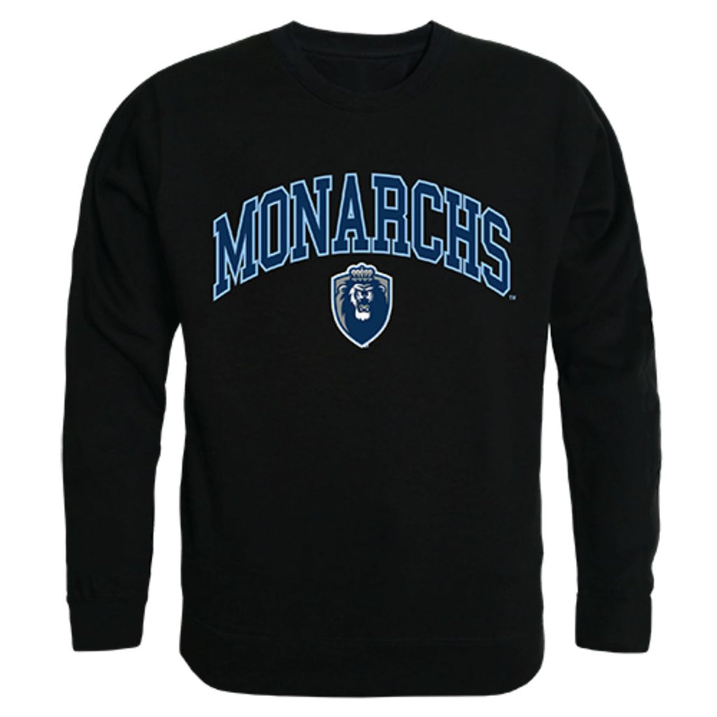 ODU Old Dominion University Campus Crewneck Pullover Sweatshirt Sweater Black
