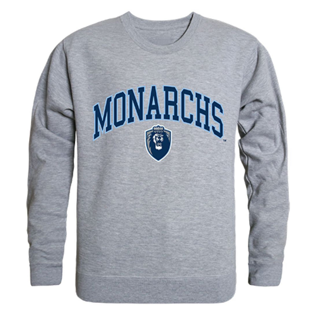 ODU Old Dominion University Campus Crewneck Pullover Sweatshirt Sweater Heather Grey