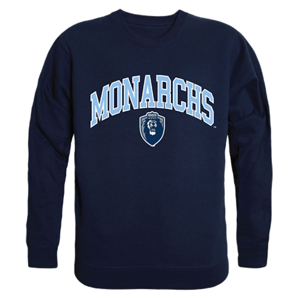 ODU Old Dominion University Campus Crewneck Pullover Sweatshirt Sweater Navy