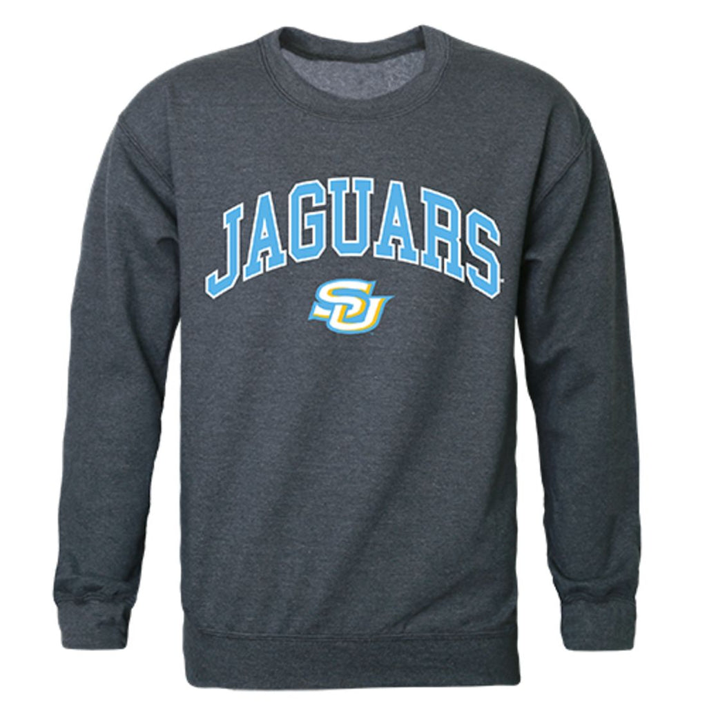 Southern University Campus Crewneck Pullover Sweatshirt Sweater Heather Charcoal