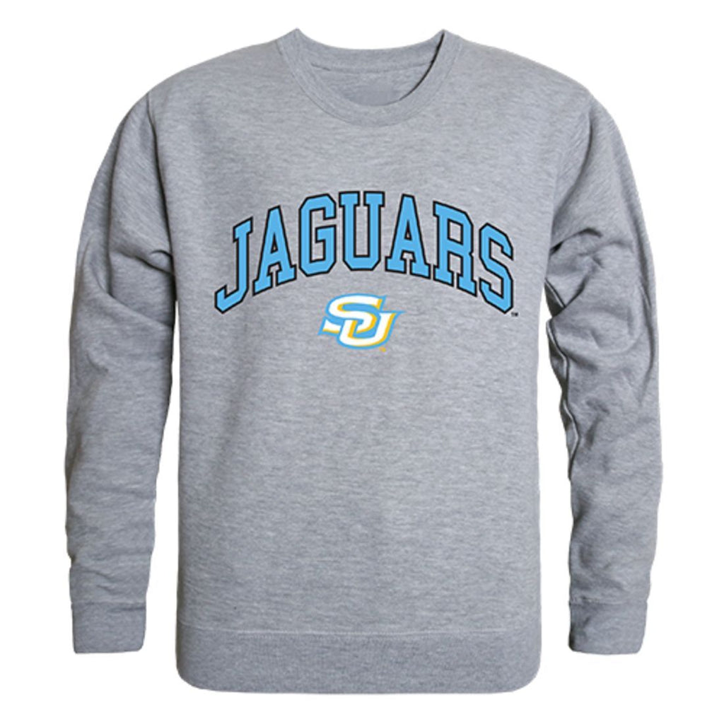 Southern University Campus Crewneck Pullover Sweatshirt Sweater Heather Grey
