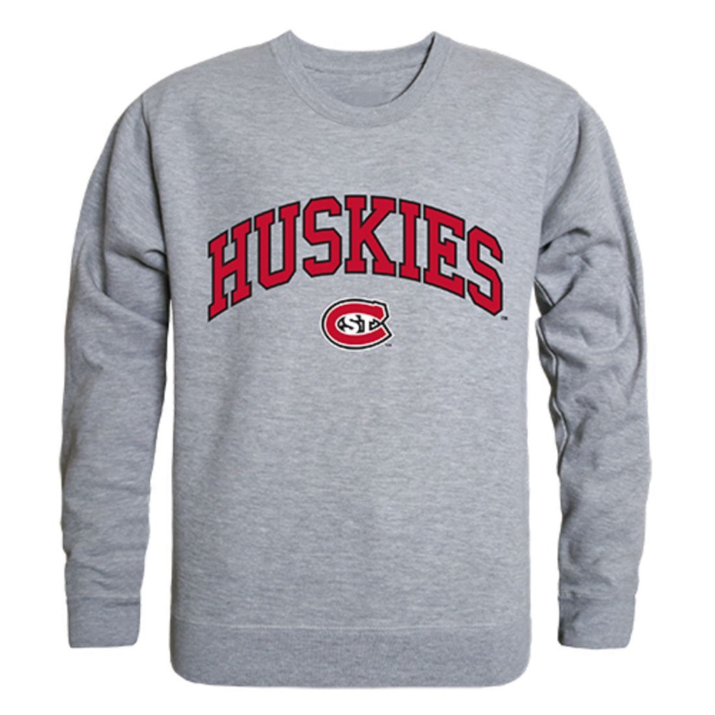 St. Cloud State University Campus Crewneck Pullover Sweatshirt Sweater Heather Grey