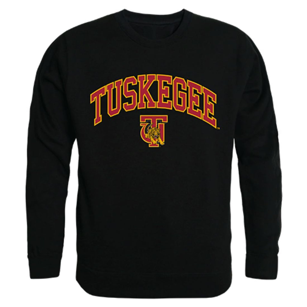 Tuskegee University Golden Campus Crewneck Pullover Sweatshirt Sweater Black