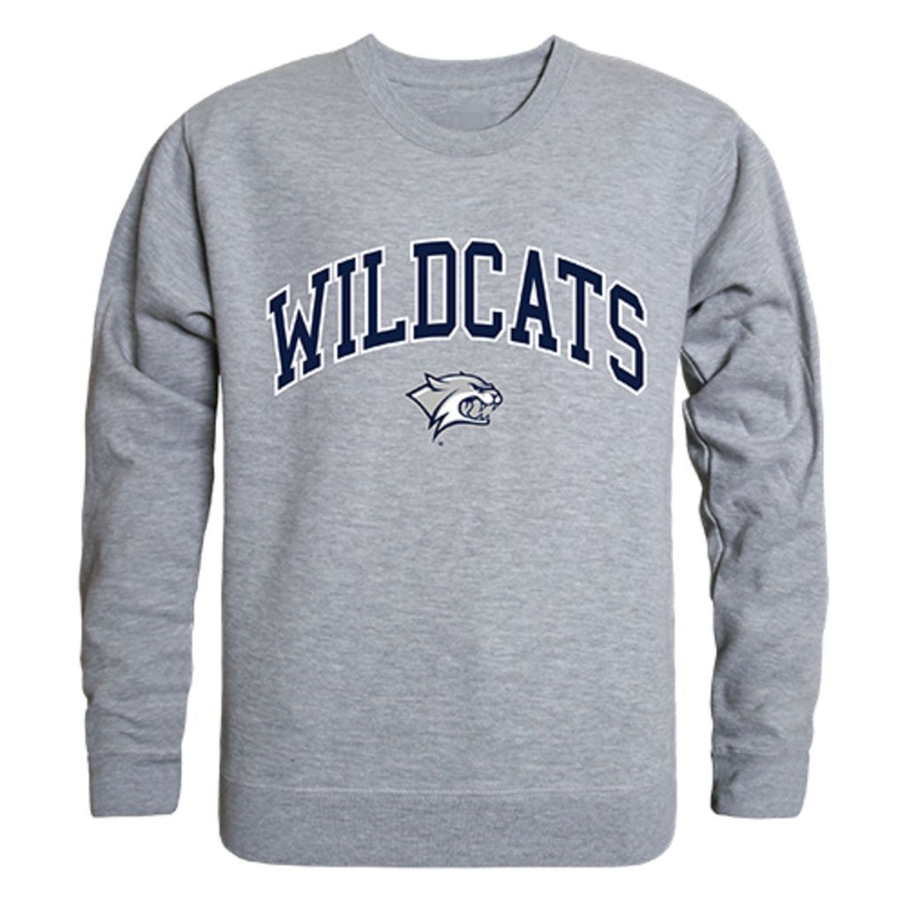 UNH University of New Hampshire Campus Crewneck Pullover Sweatshirt Sweater Heather Grey