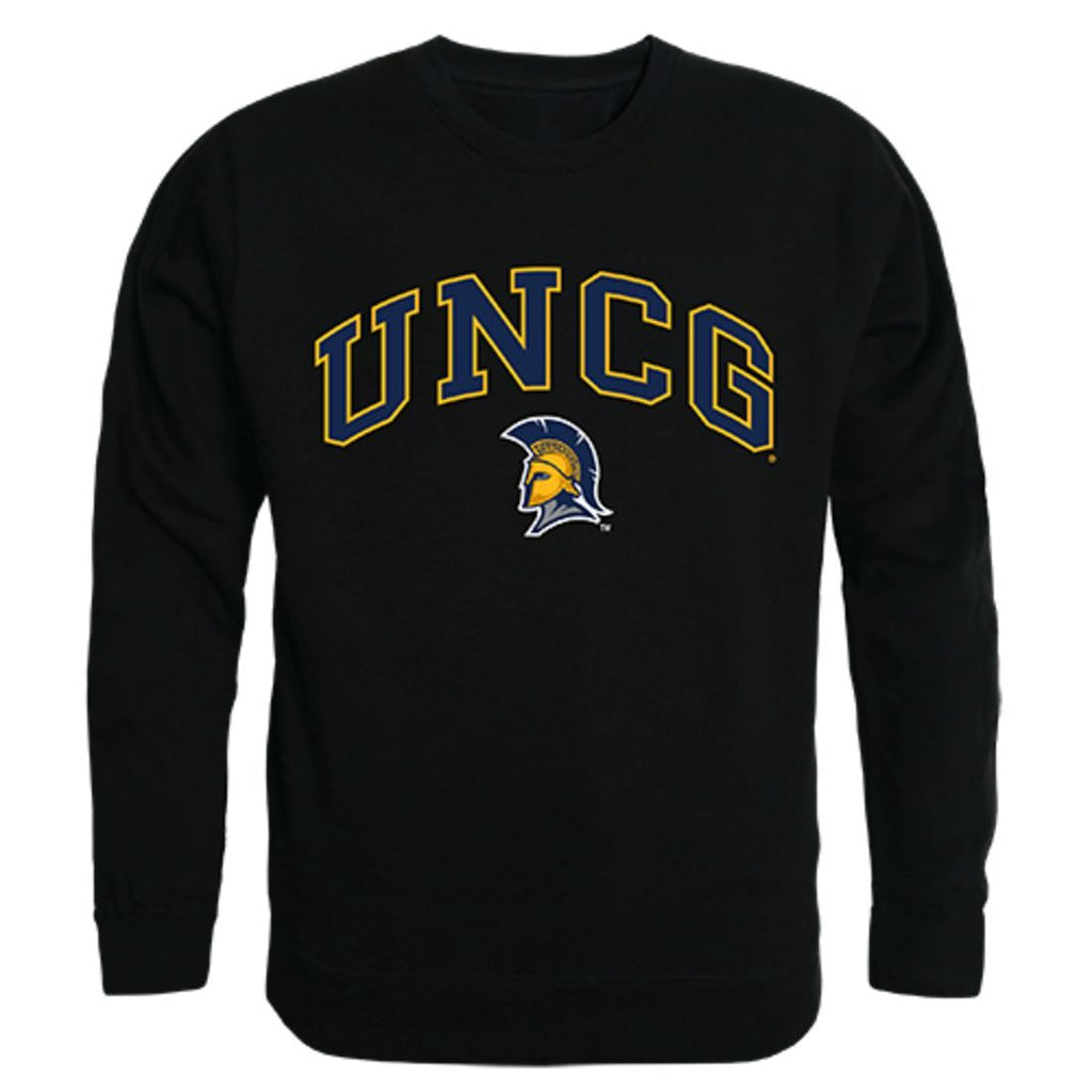 UNCG University of North Carolina at Greensboro Campus Crewneck Pullover Sweatshirt Sweater Black
