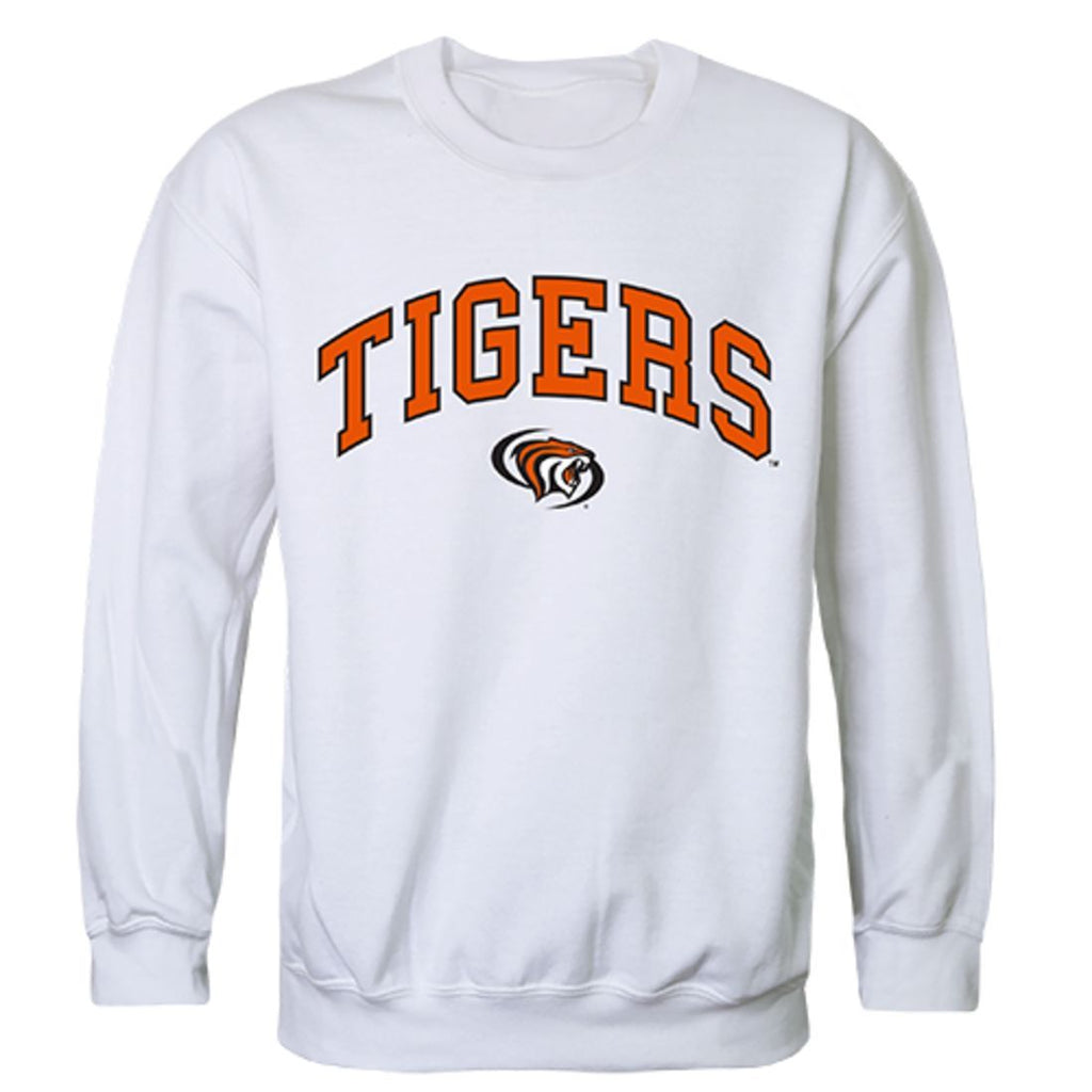 University of the Pacific Campus Crewneck Pullover Sweatshirt Sweater White