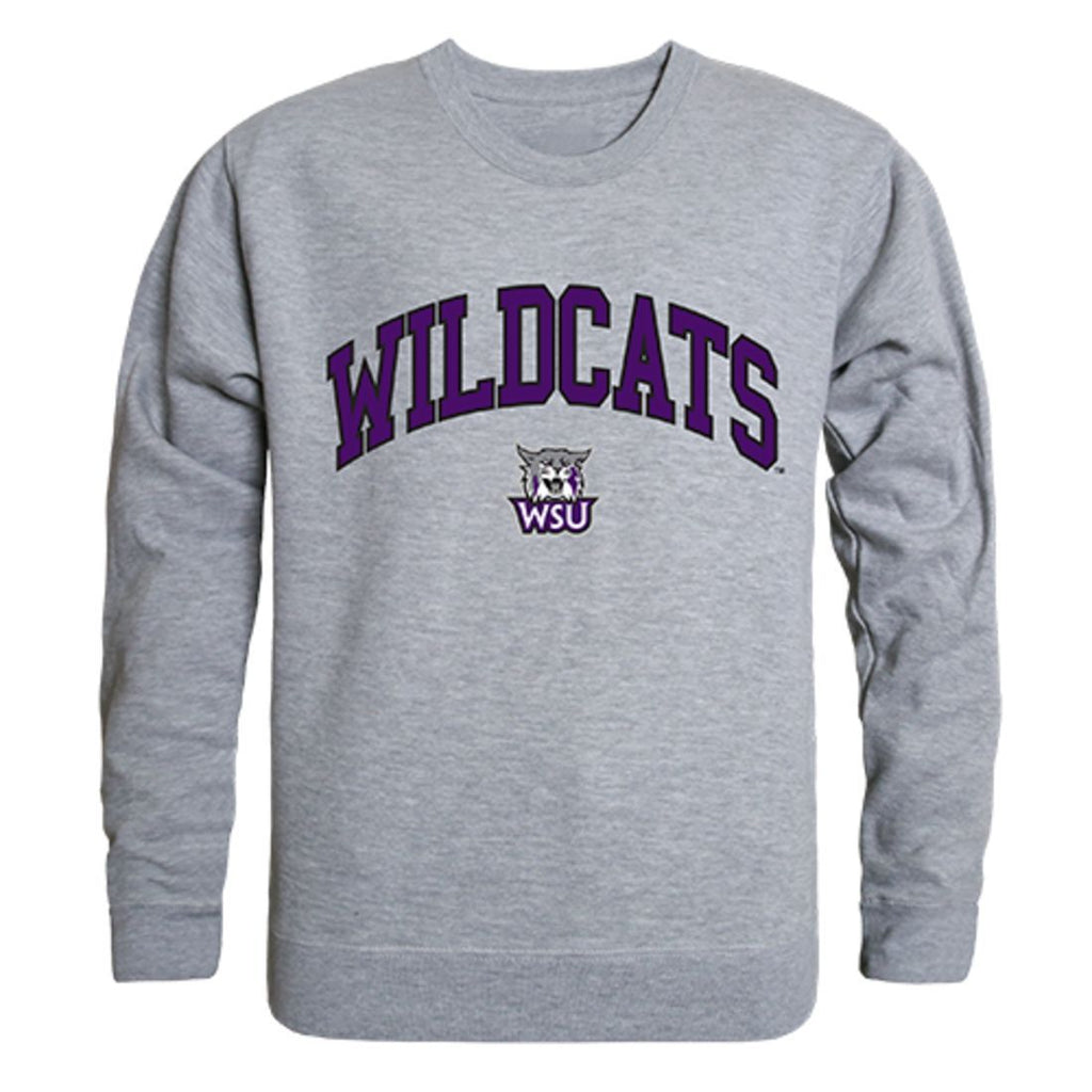 Weber State University Campus Crewneck Pullover Sweatshirt Sweater Heather Grey