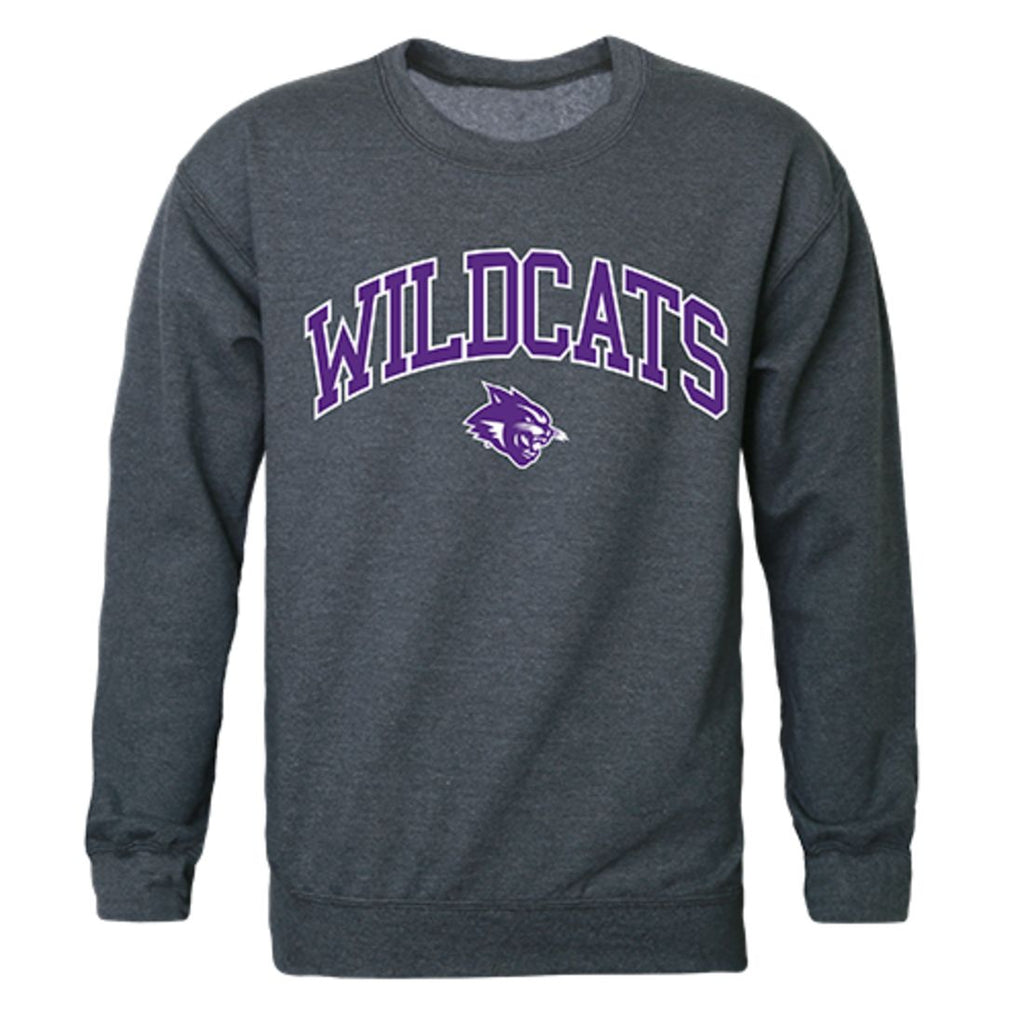 ACU Abilene Christian University Campus Crewneck Pullover Sweatshirt Sweater Heather Charcoal