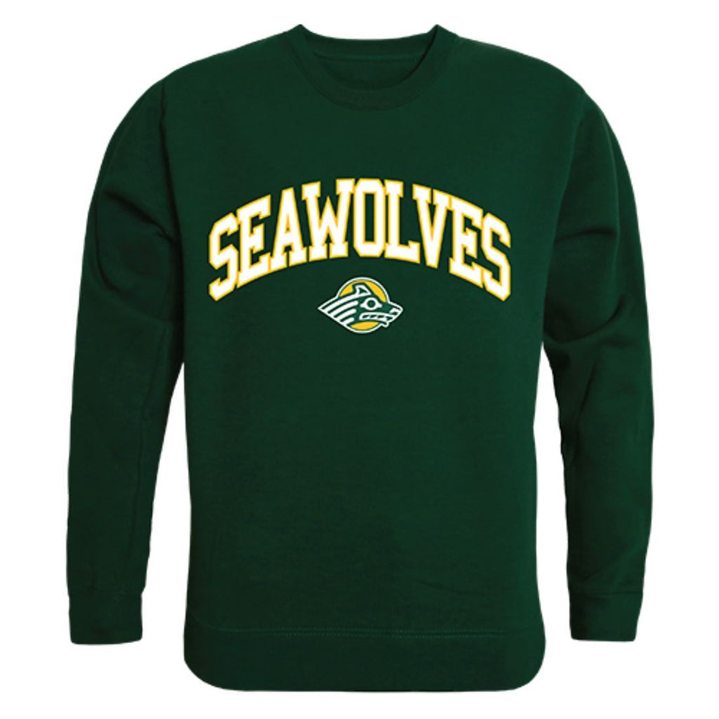 UAA University of Alaska Anchorage Campus Crewneck Pullover Sweatshirt Sweater Forest