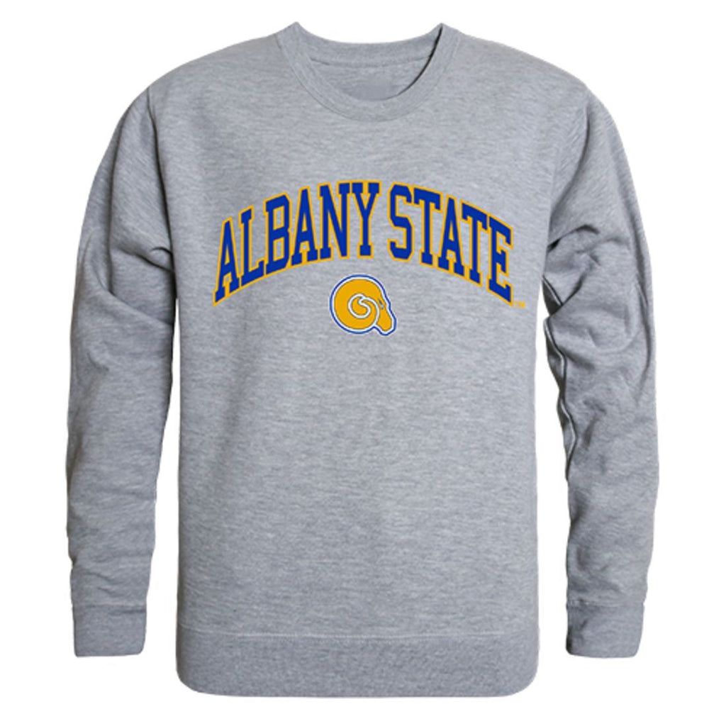 ASU Albany State University Campus Crewneck Pullover Sweatshirt Sweater Heather Grey