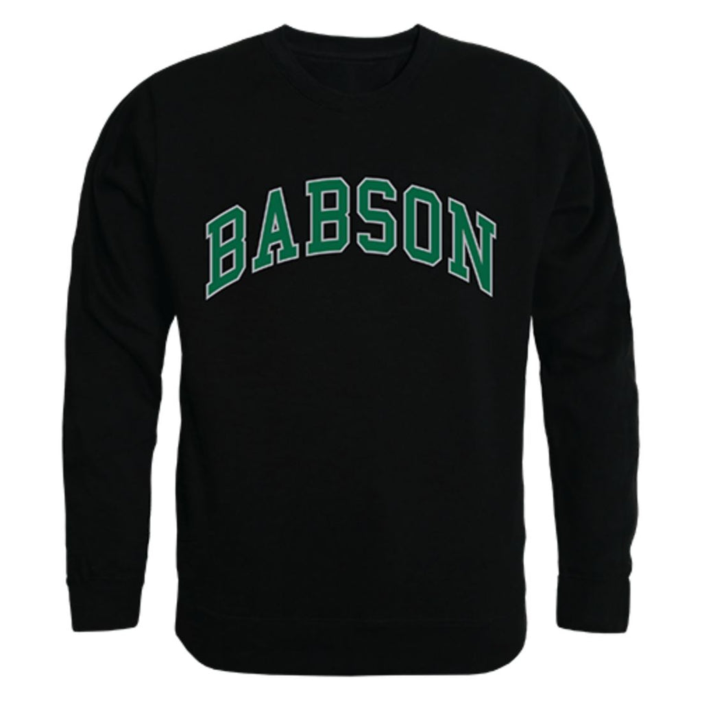 Babson College Campus Crewneck Pullover Sweatshirt Sweater Black