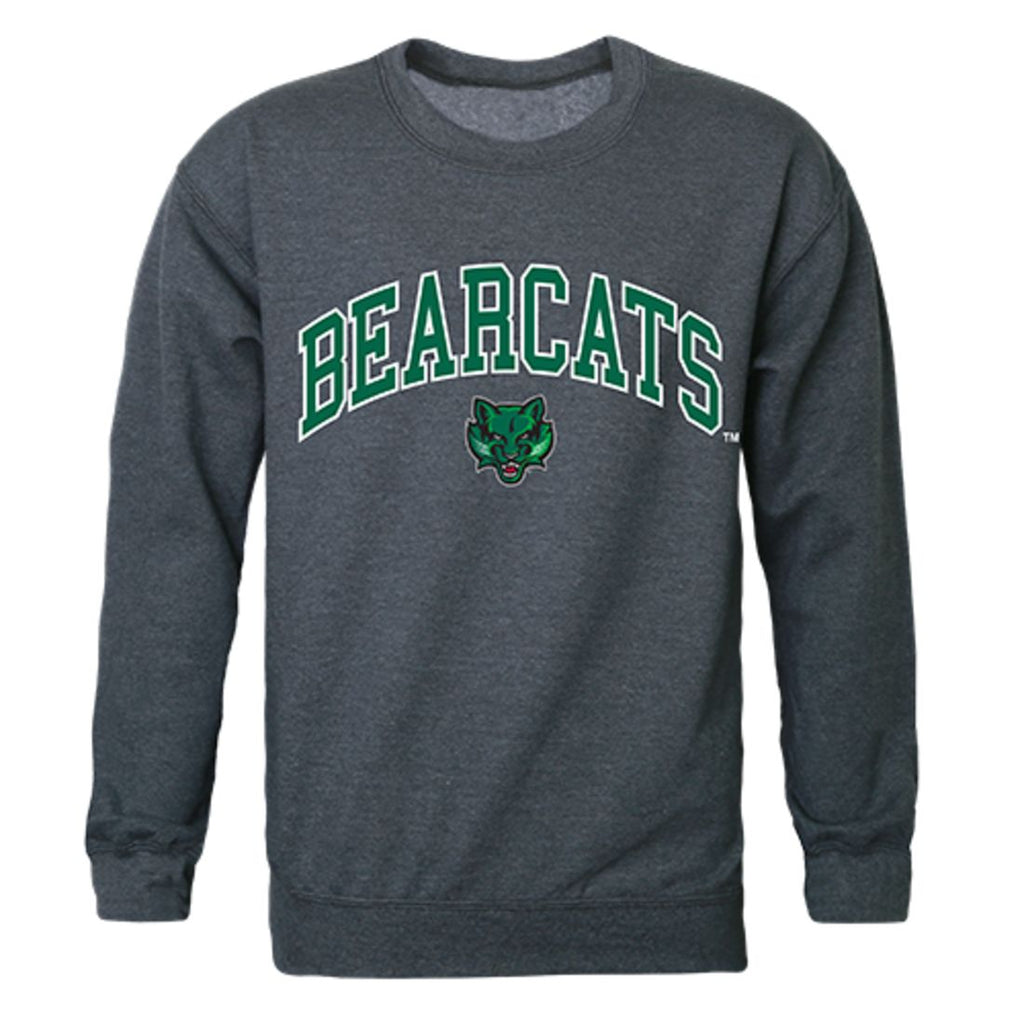 SUNY Binghamton University Campus Crewneck Pullover Sweatshirt Sweater Heather Charcoal