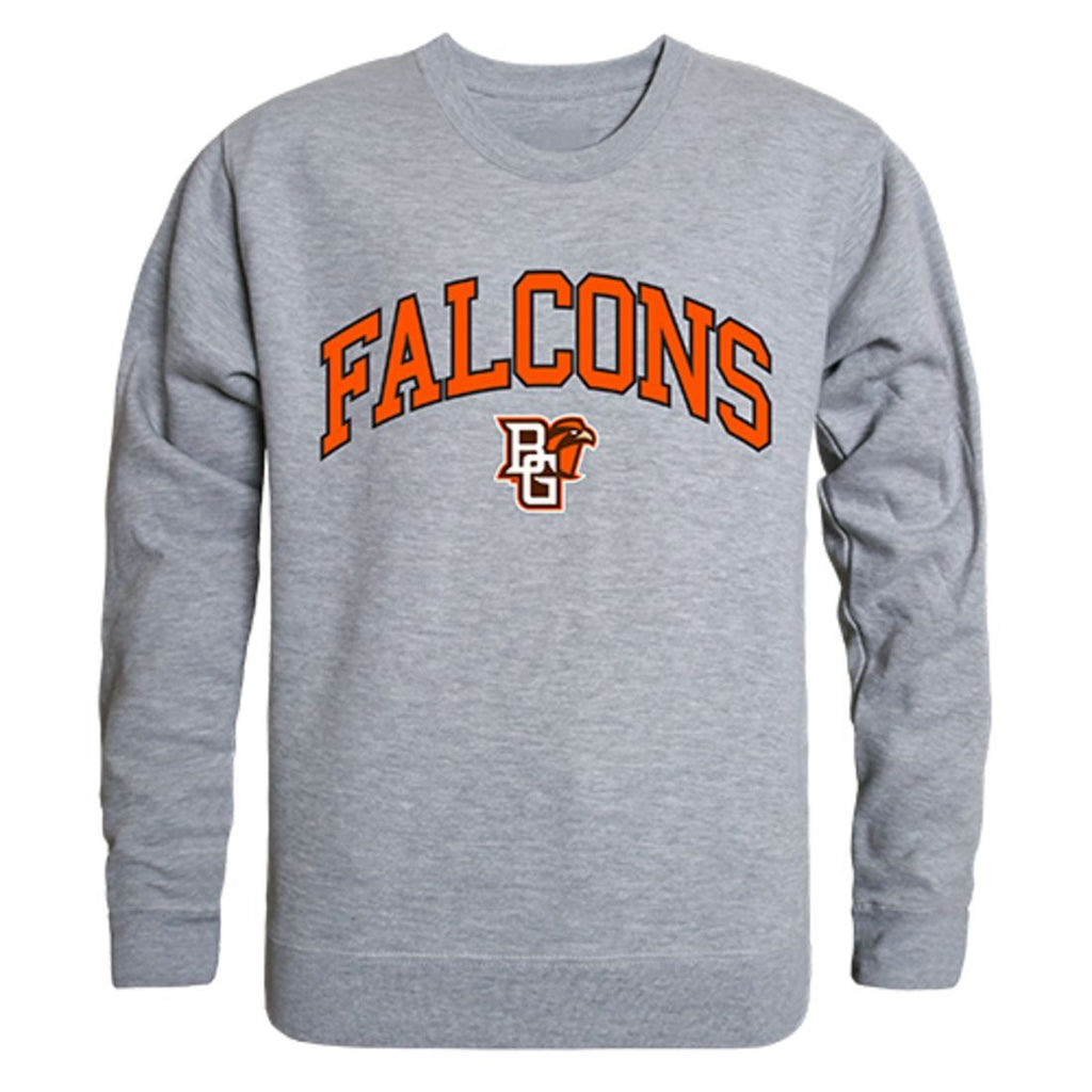 BGSU Bowling Green State University Campus Crewneck Pullover Sweatshirt Sweater Heather Grey