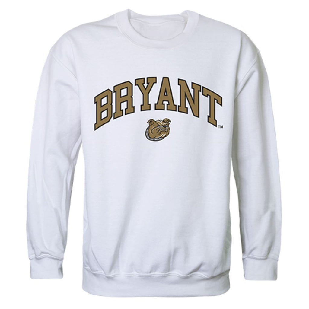 Bryant University Campus Crewneck Pullover Sweatshirt Sweater White