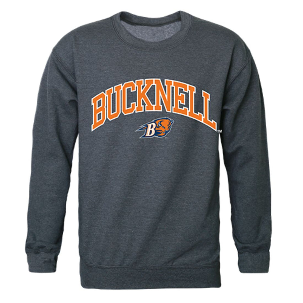 Bucknell University Campus Crewneck Pullover Sweatshirt Sweater Heather Charcoal