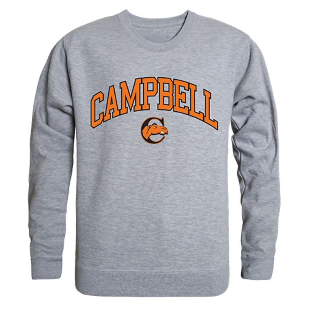 Campbell University Campus Crewneck Pullover Sweatshirt Sweater Heather Grey