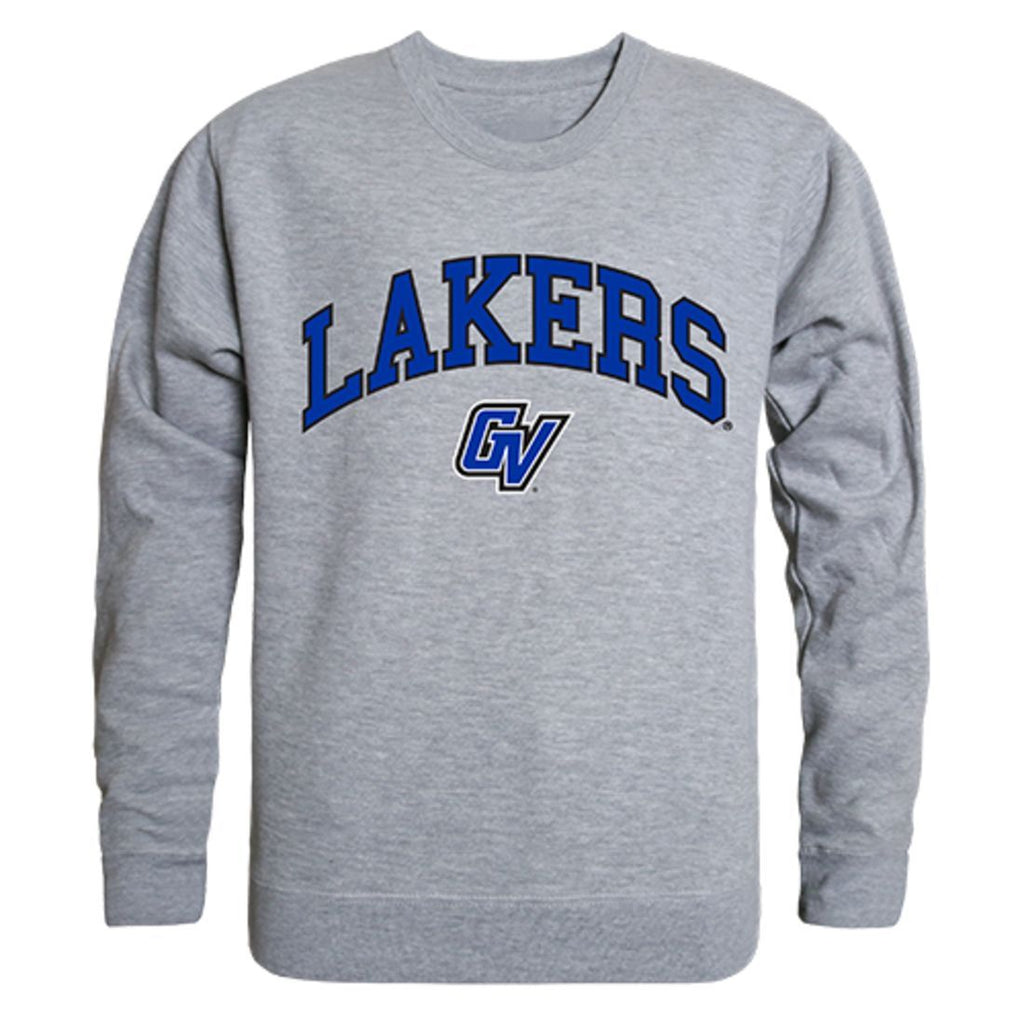 GVSU Grand Valley State University Campus Crewneck Pullover Sweatshirt Sweater Heather Grey