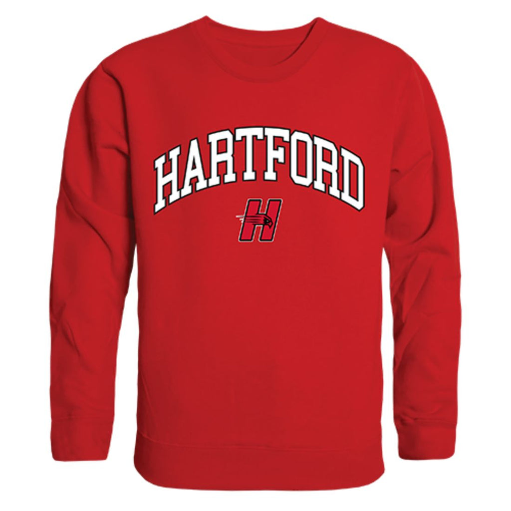 University of Hartford Campus Crewneck Pullover Sweatshirt Sweater Red
