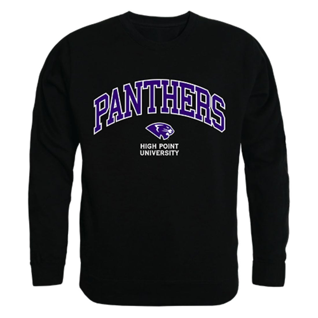 HPU High Point University Campus Crewneck Pullover Sweatshirt Sweater Black
