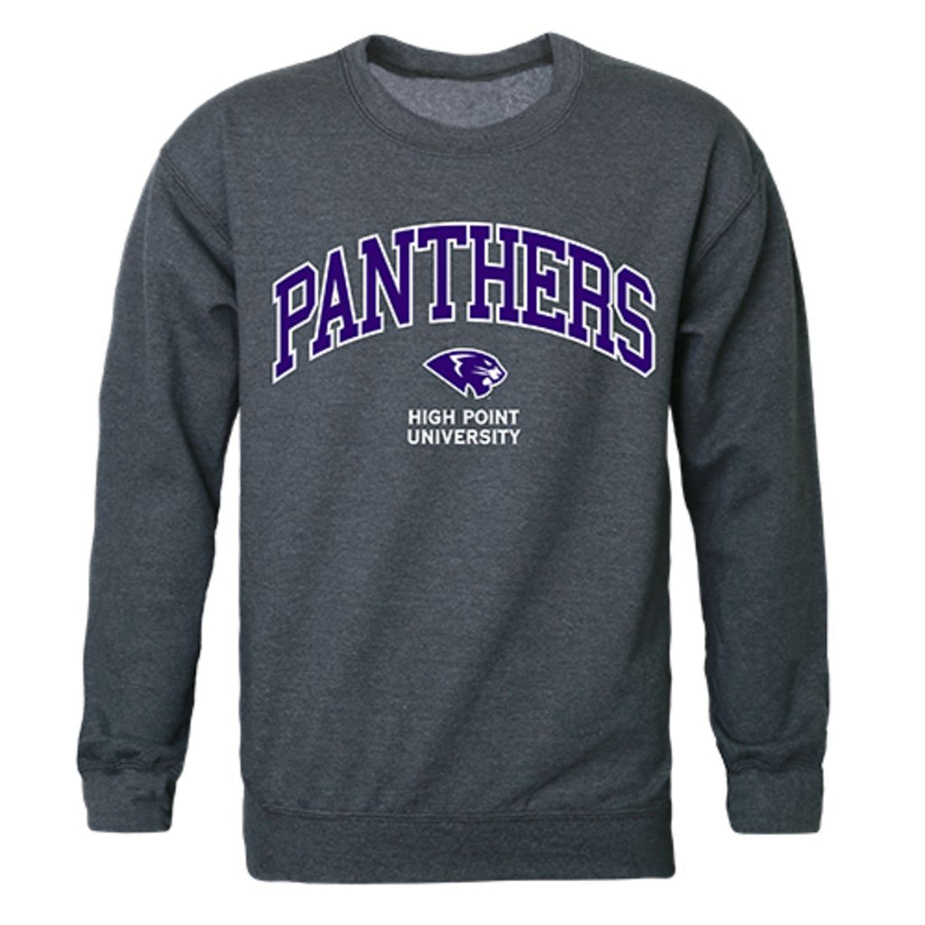 HPU High Point University Campus Crewneck Pullover Sweatshirt Sweater Heather Charcoal