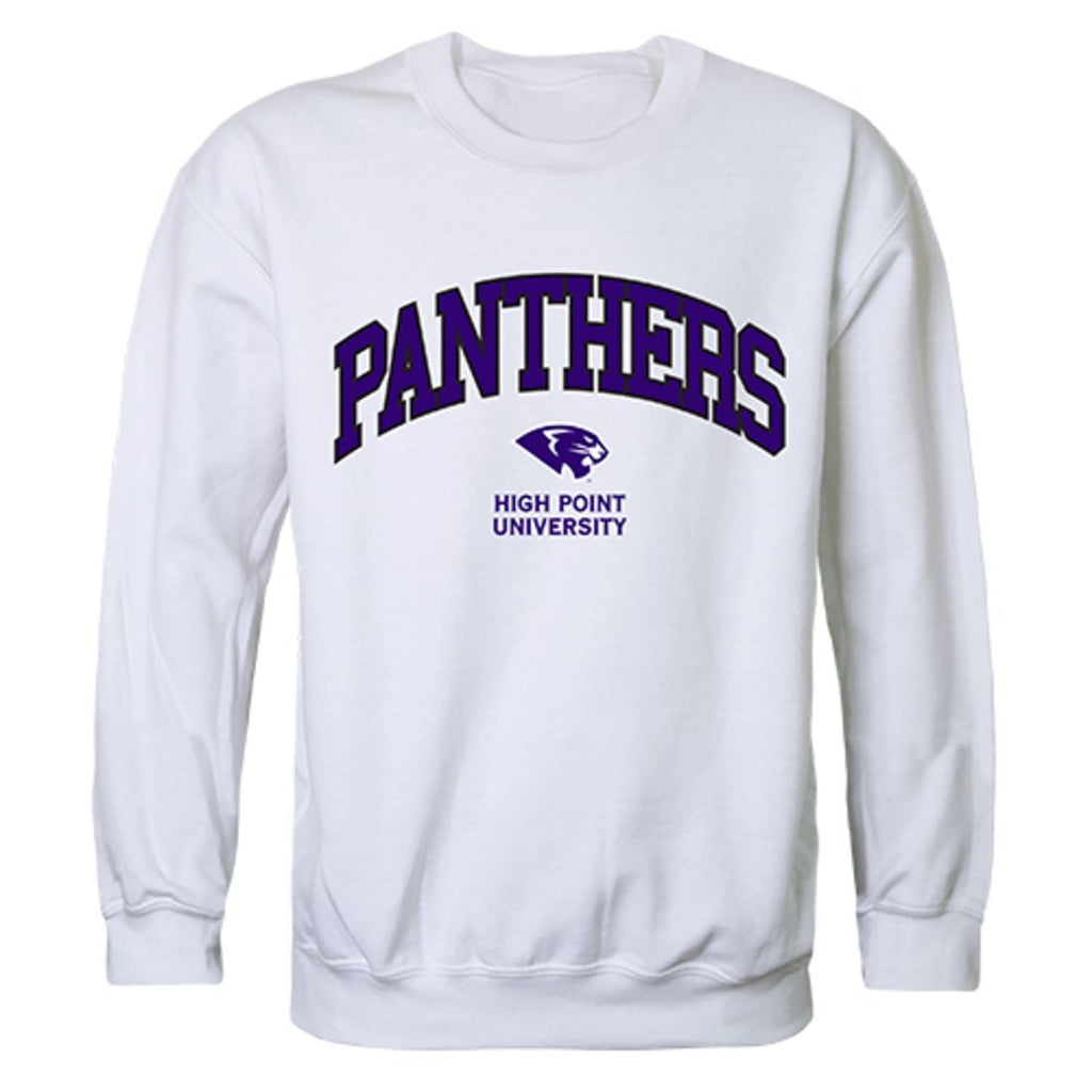 HPU High Point University Campus Crewneck Pullover Sweatshirt Sweater White