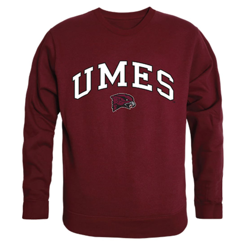 UMES University of Maryland Eastern Shore Campus Crewneck Pullover Sweatshirt Sweater Maroon