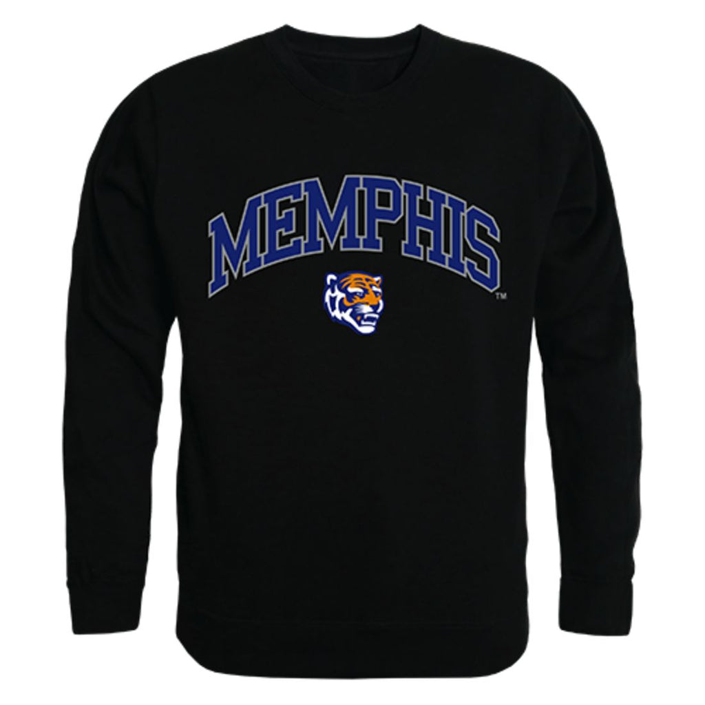 University of Memphis Campus Crewneck Pullover Sweatshirt Sweater Black