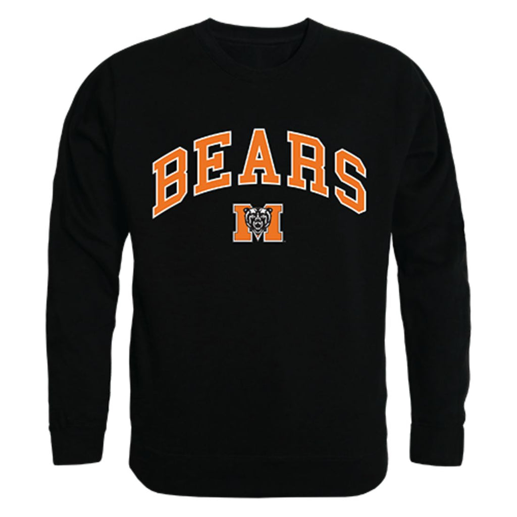 Mercer University Campus Crewneck Pullover Sweatshirt Sweater Black