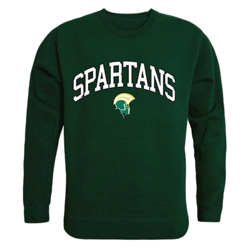 NSU Norfolk State University Campus Crewneck Pullover Sweatshirt Sweater Forest