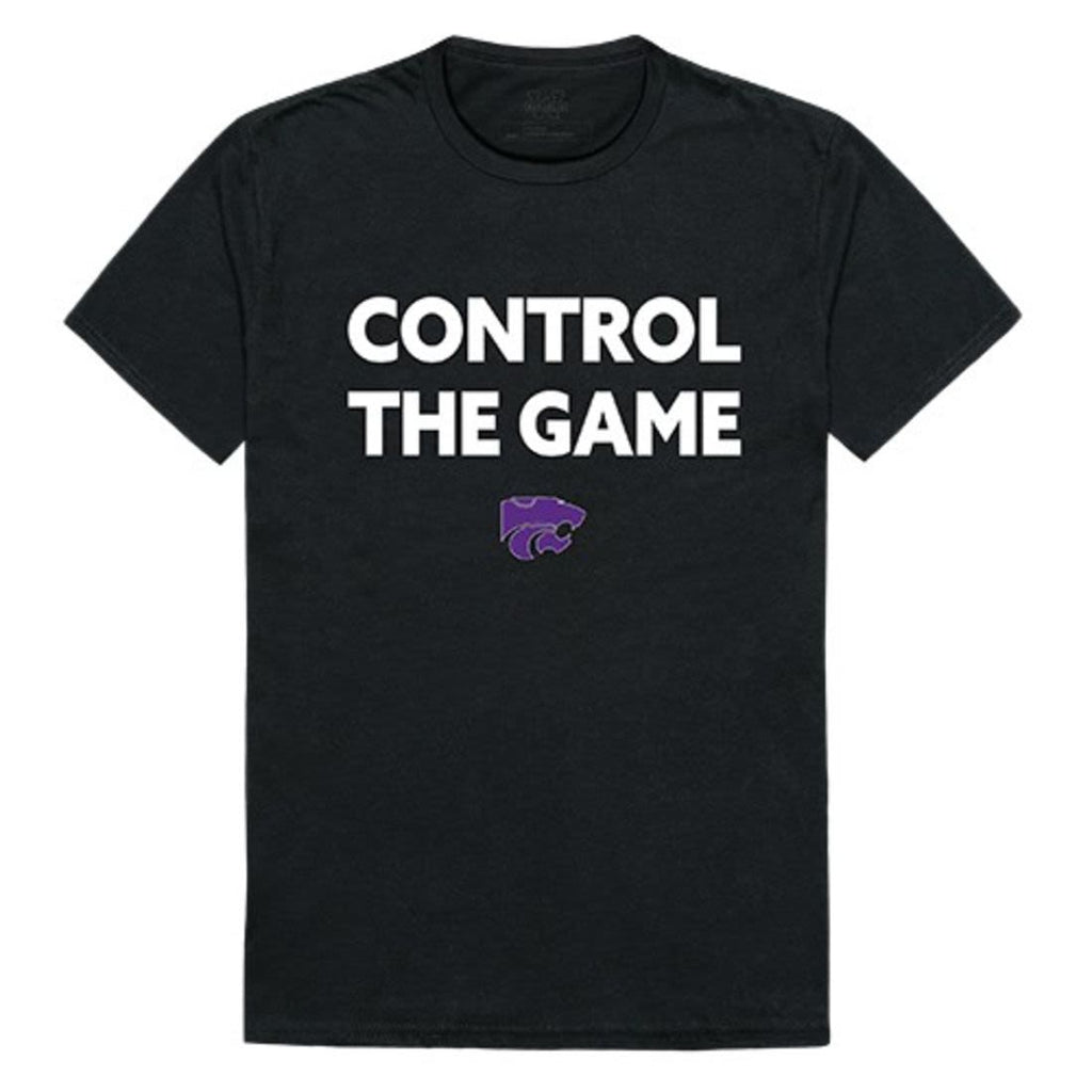 KSU Kansas State University Wildcats Control the Game T-Shirt Black