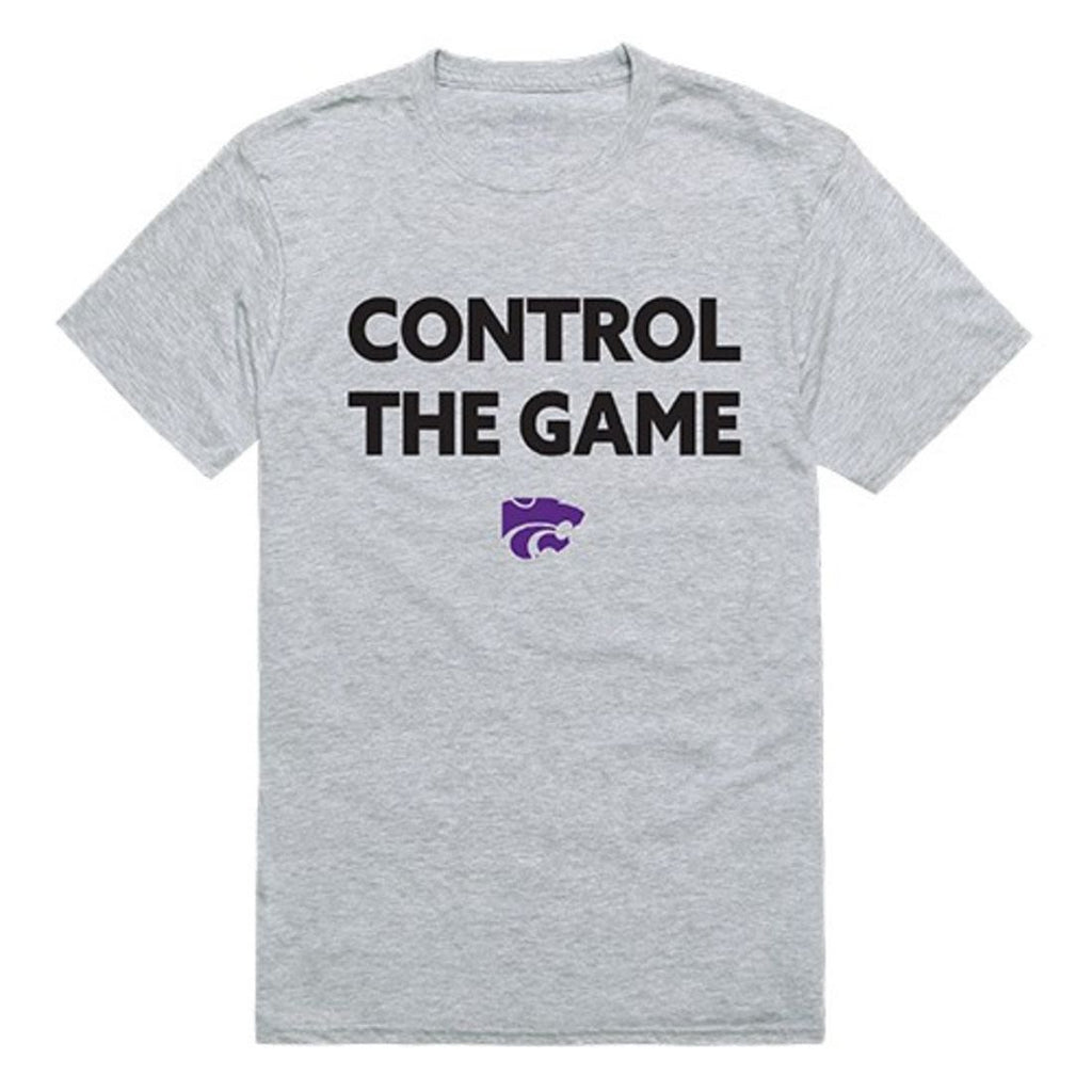 KSU Kansas State University Wildcats Control the Game T-Shirt Heather Grey