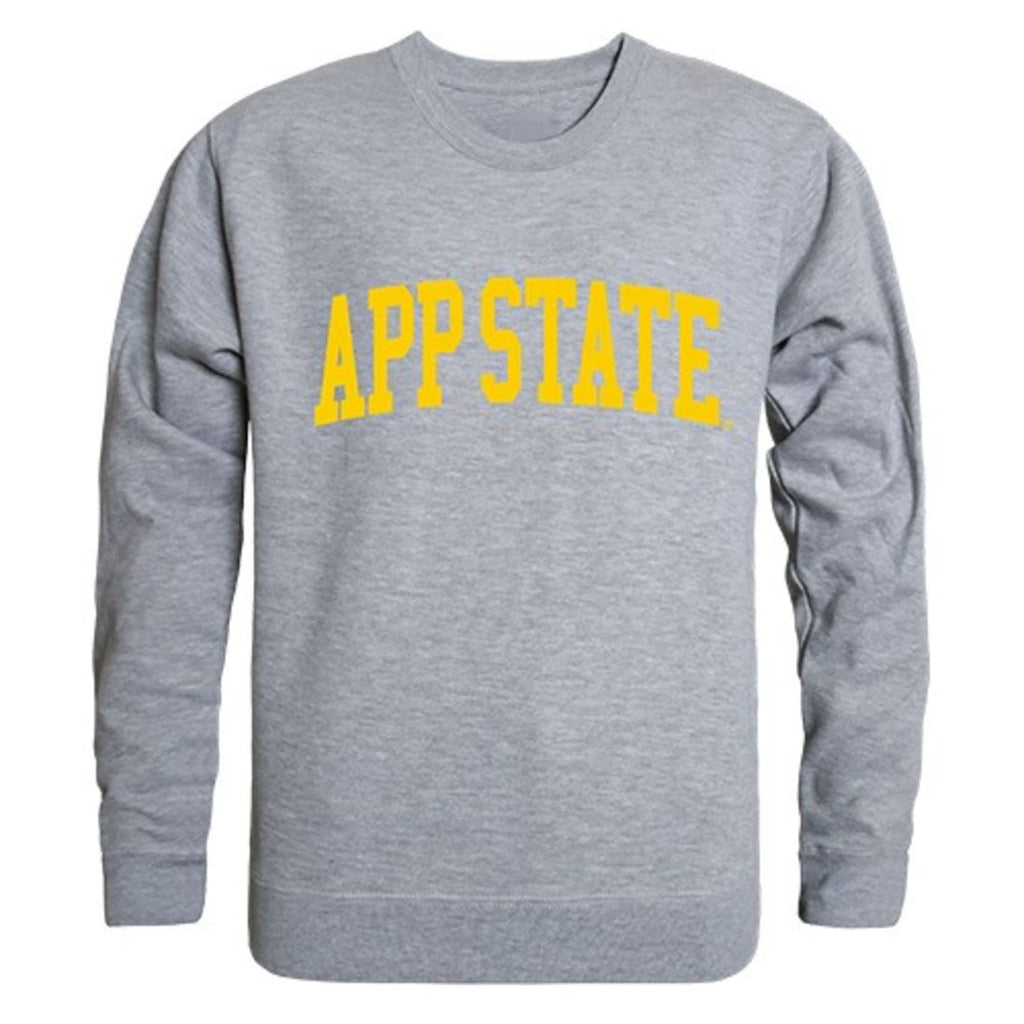 Appalachian App State University Game Day Crewneck Pullover Sweatshirt Sweater Heather Grey