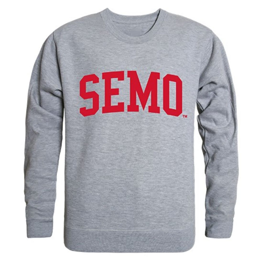 SEMO Southeast Missouri State University Game Day Crewneck Pullover Sweatshirt Sweater Heather Grey