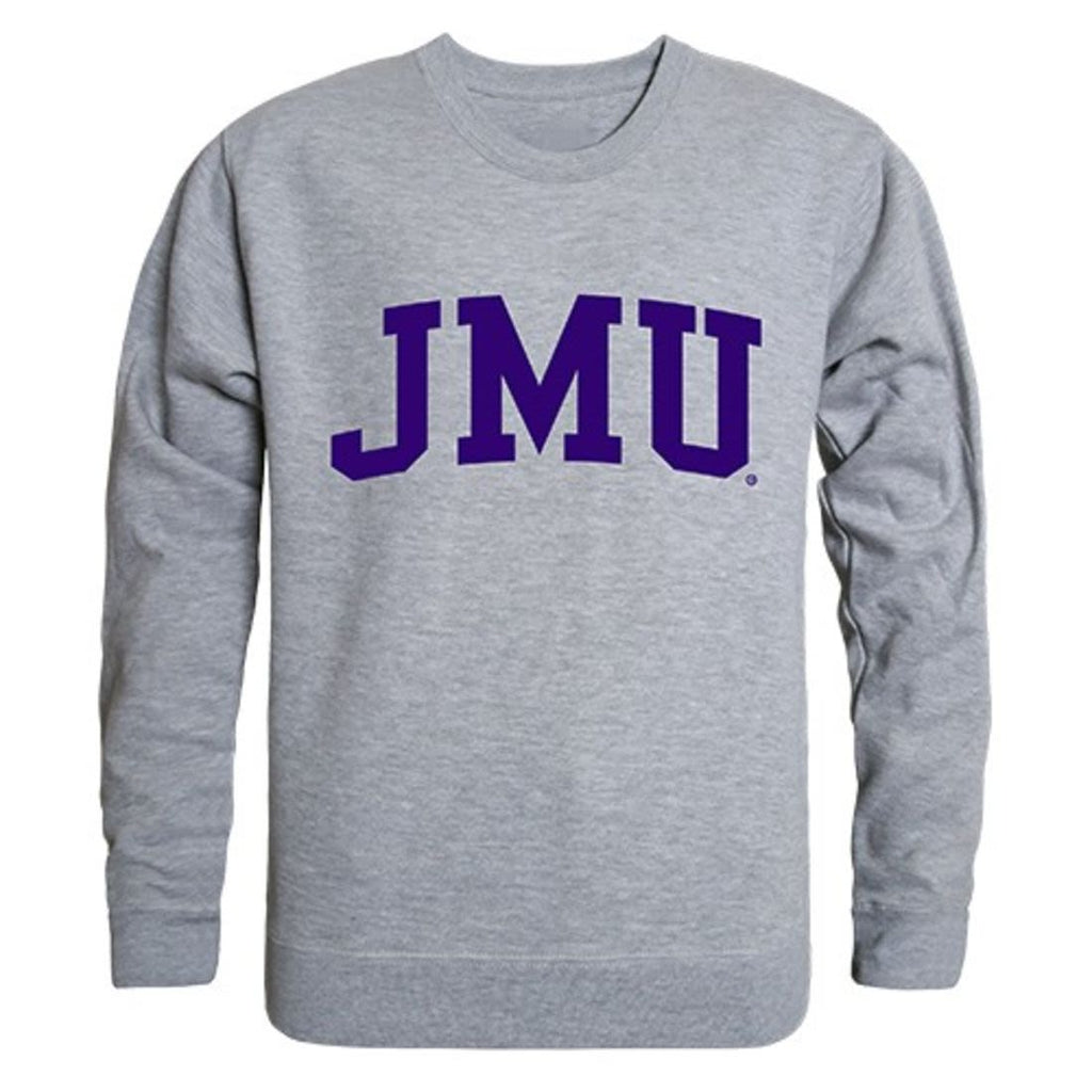 Heather James Madison University Foundation Mens Pullover Hoodie School Spirit Sweatshirt