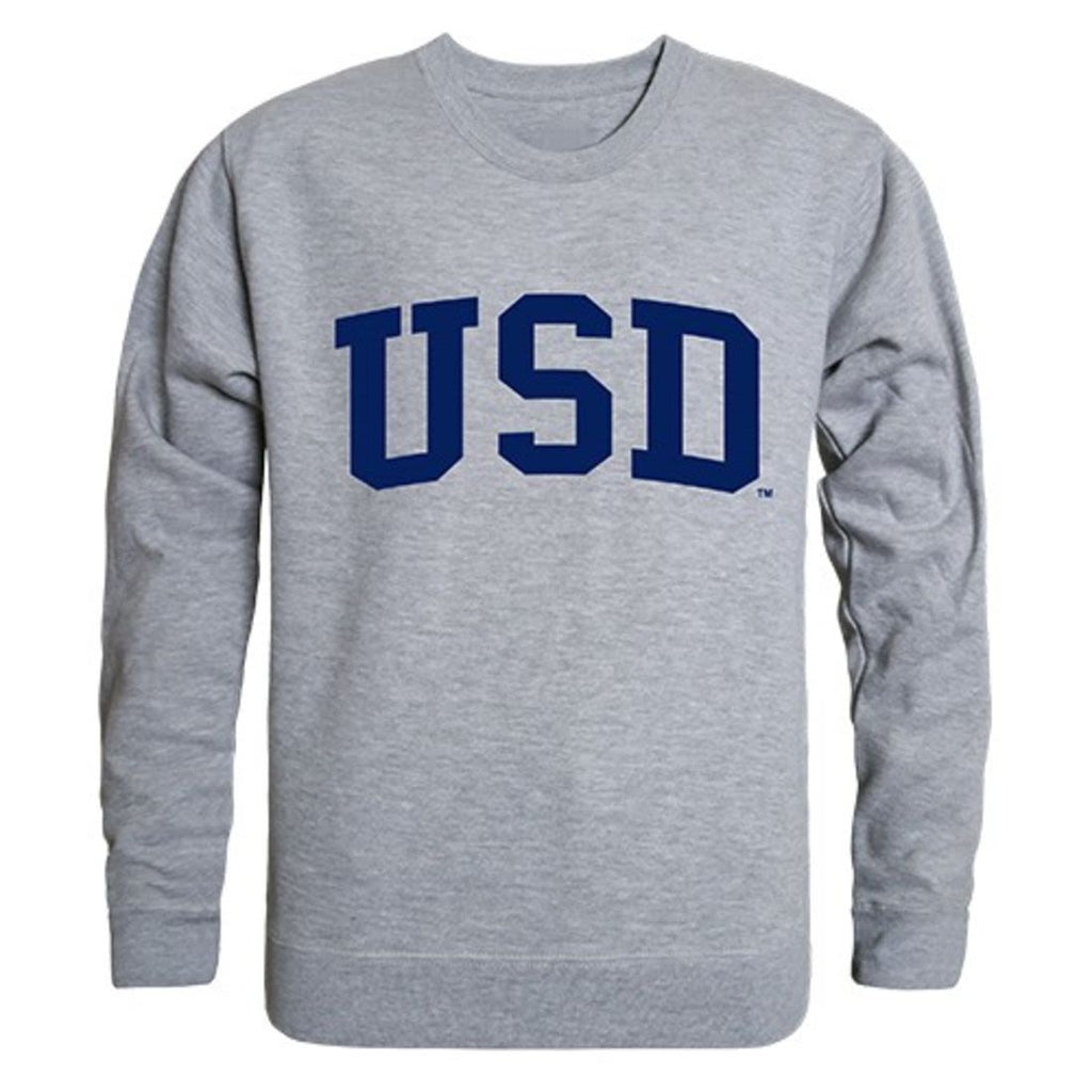 USD University of San Diego Game Day Crewneck Pullover Sweatshirt Sweater Heather Grey
