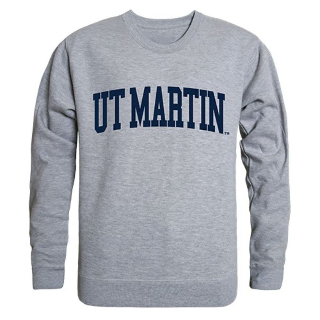 UT University of Tennessee at Martin Game Day Crewneck Pullover Sweatshirt Sweater Heather Grey
